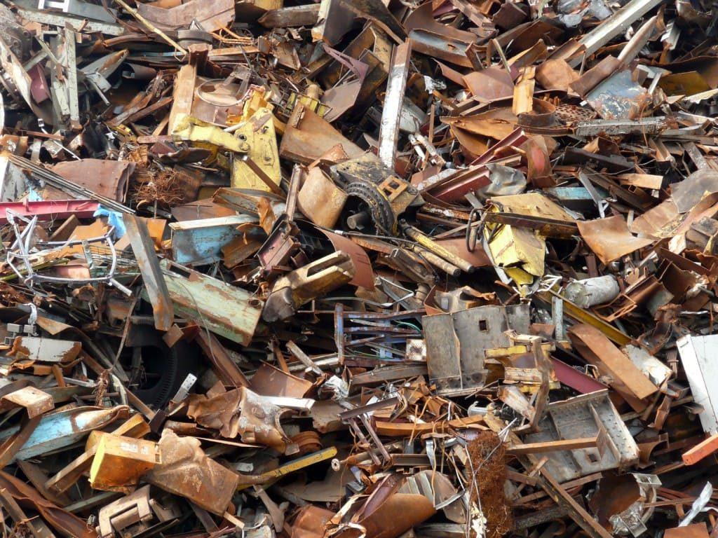 Металлодетекторы при переработке мусора