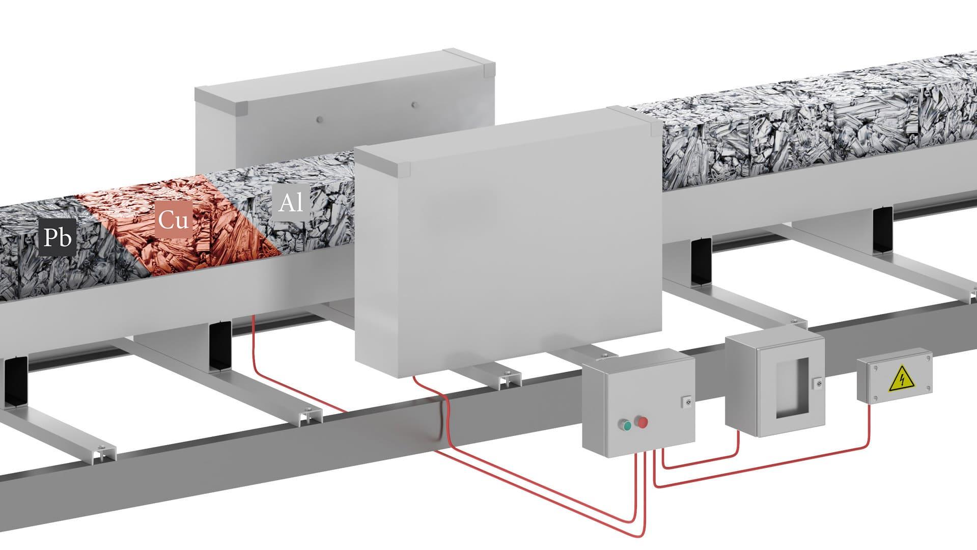 Промышленный металлодетектор HMG