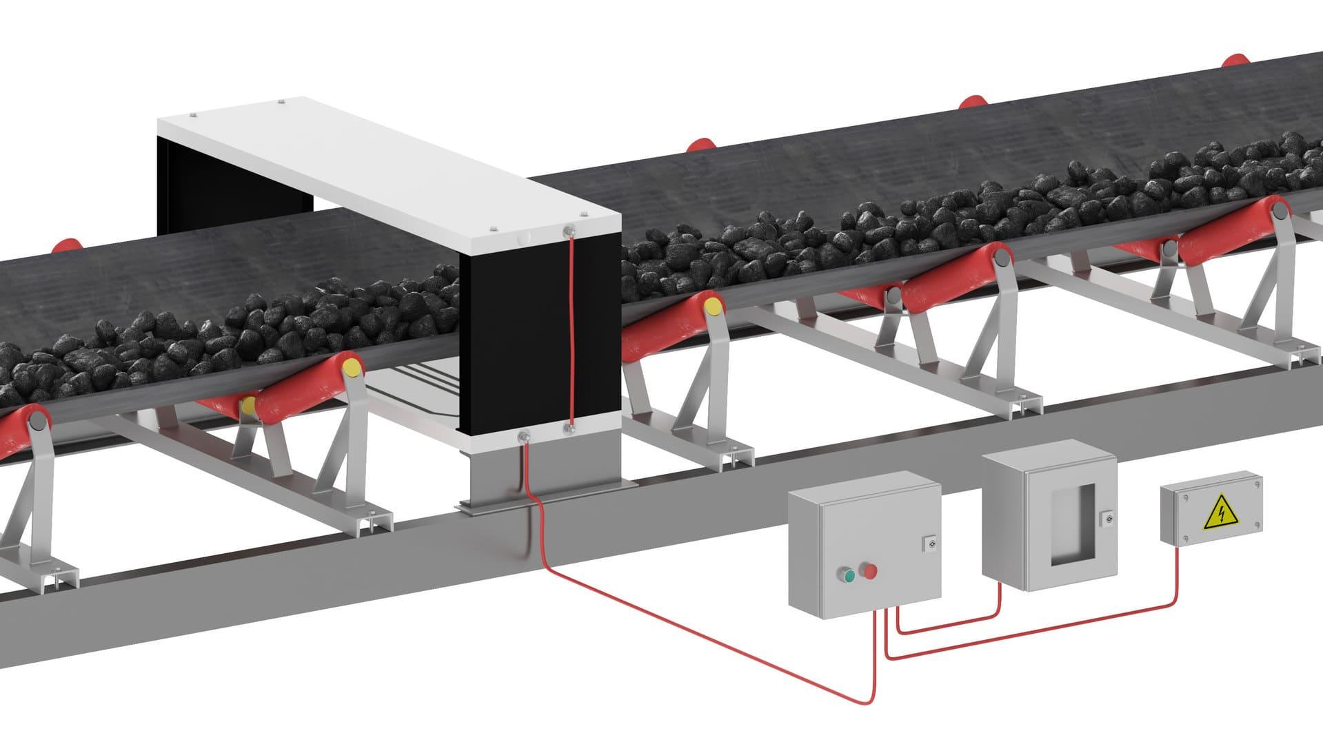 Промышленный металлодетектор QLC / QLCTA