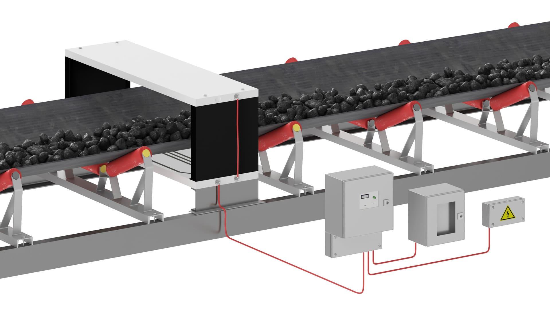 Промышленный металлодетектор SQ / SQTA